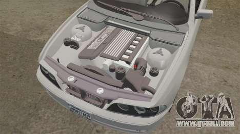 BMW 525i (E39) for GTA 4 side view