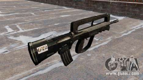 Assault Rifle FAMAS for GTA 4 second screenshot