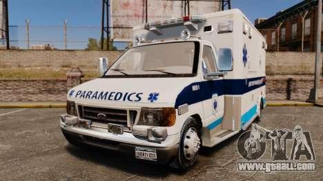 Ford E-350 Liberty Ambulance [ELS] for GTA 4