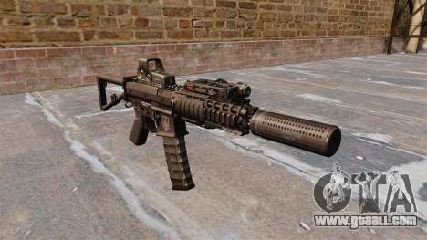 Automatic carbine KAC PDW for GTA 4
