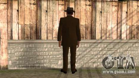 Cole Phelps from L.A. Noire for GTA San Andreas second screenshot