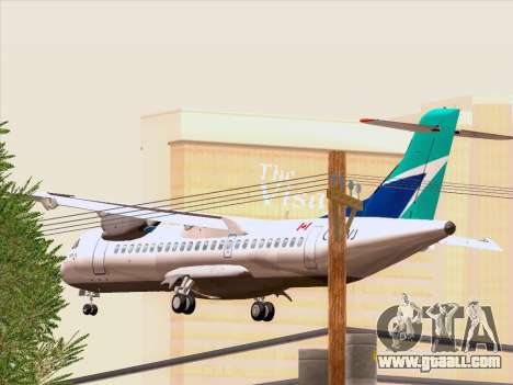 ATR 72-500 WestJet Airlines for GTA San Andreas side view