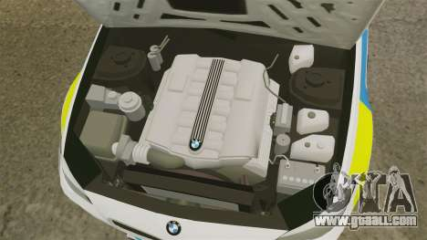 BMW M5 Ambulance [ELS] for GTA 4 inner view