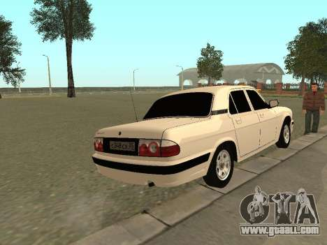 GAZ 31105 for GTA San Andreas right view