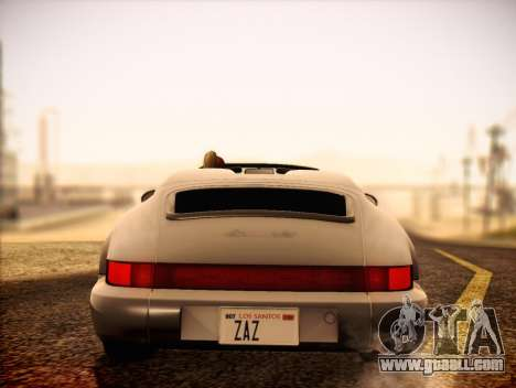 Porsche 911 Speedster Carrera 2 1992 for GTA San Andreas right view
