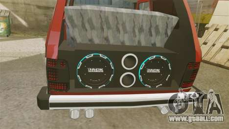 Vaz-21213 Niva LT for GTA 4 inner view