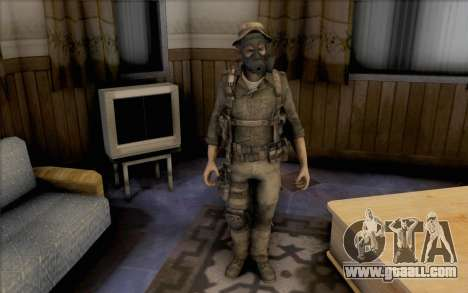 Captain price (in mask) for GTA San Andreas second screenshot