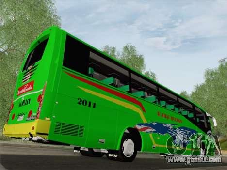 Irizar Mercedes Benz MQ2547 Alabat Liner for GTA San Andreas wheels