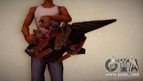 Flamethrower from Bulletstorm for GTA San Andreas third screenshot