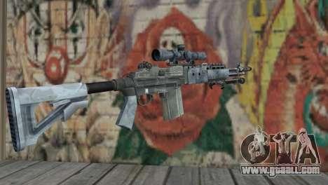 M14 EBR Blue Tiger for GTA San Andreas second screenshot