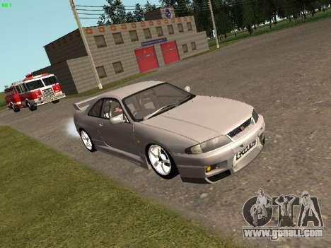 Nissan Skyline R33 GT-R for GTA San Andreas