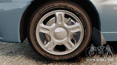 Daewoo Lanos 1997 PL for GTA 4 back view