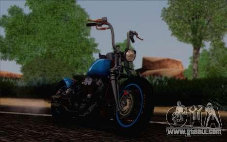 Harley-Davidson Knucklehead for GTA San Andreas