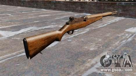 Self-loading rifle M1 Garand v1.1 for GTA 4 second screenshot