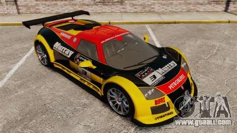 Gumpert Apollo S 2011 for GTA 4 engine