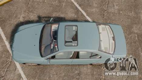 BMW 525i (E39) for GTA 4 right view