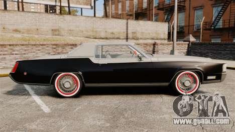 Cadillac Eldorado Coupe 1969 for GTA 4 left view