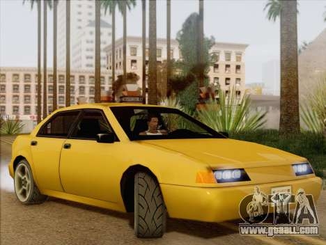 Stratum Sedan Sport for GTA San Andreas