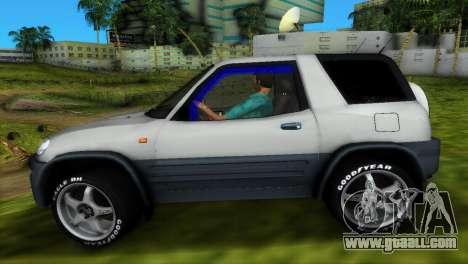 Toyota RAV 4 L 94 Fun Cruiser for GTA Vice City bottom view