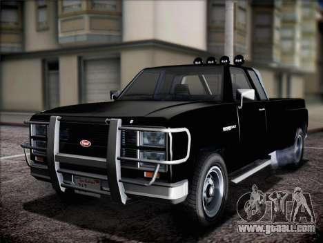 Bobcat of Vapid GTA V for GTA San Andreas