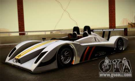 Caterham-Lola SP300.R for GTA San Andreas left view