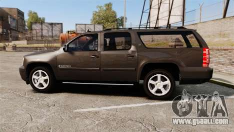 Chevrolet Suburban Slicktop 2008 [ELS] for GTA 4 left view