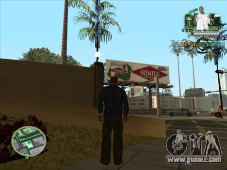 C-HUD Groove Street for GTA San Andreas third screenshot