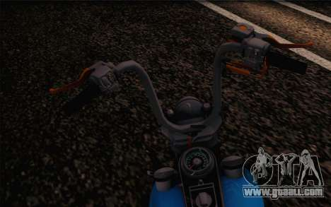 Harley-Davidson Knucklehead for GTA San Andreas right view