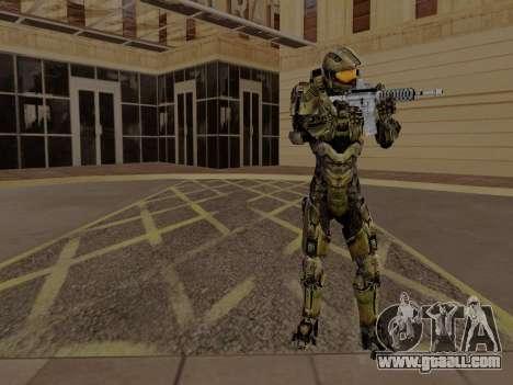 Master Chief for GTA San Andreas third screenshot