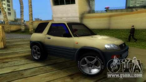 Toyota RAV 4 L 94 Fun Cruiser for GTA Vice City left view