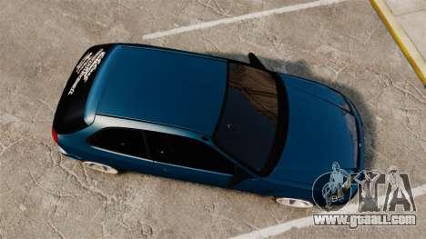 Honda Civic EK for GTA 4 right view