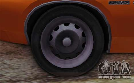 Dodge Charger 1971 Super Bee for GTA San Andreas back left view