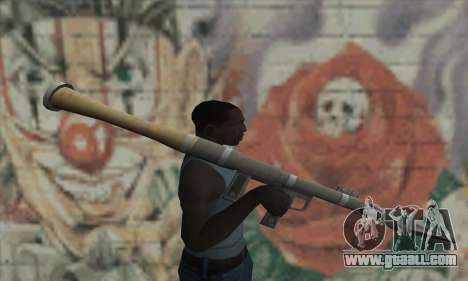 Missile launcher from the Saints Row 2 for GTA San Andreas third screenshot