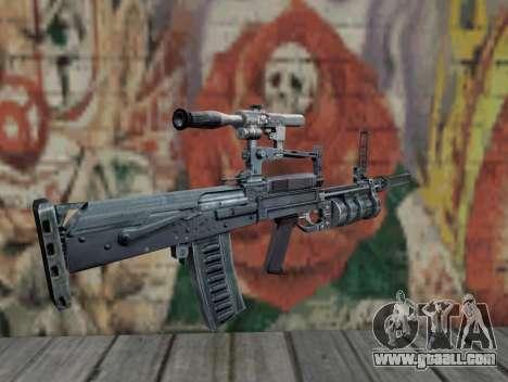 Rifle of S.T.A.L.K.E.R. for GTA San Andreas second screenshot