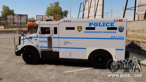 Enforcer LCPD [ELS] for GTA 4 left view