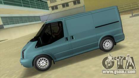 Ford Transit Sportback 2011 for GTA Vice City left view