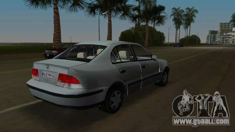 Samand for GTA Vice City left view