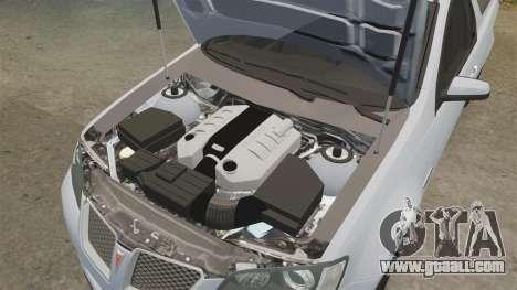 Pontiac G8 Sport Truck 2010 for GTA 4 side view