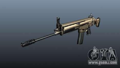 Assault Rifle SCAR-L for GTA 4