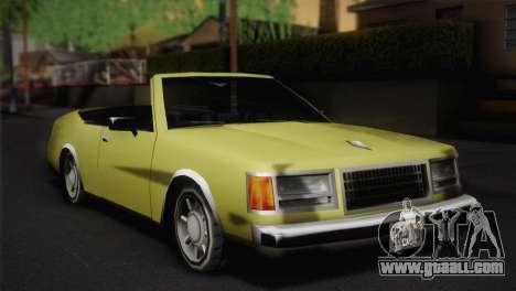 2-door cabriolet, Washington for GTA San Andreas