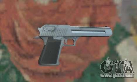 Desert Eagle from Saints Row 2 for GTA San Andreas second screenshot