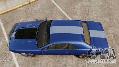 GTA V Declasse Gauntlet ZL1 for GTA 4 right view