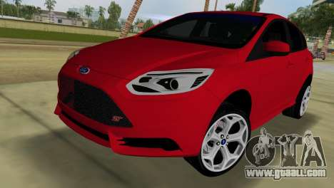 Ford Focus ST 2013 for GTA Vice City