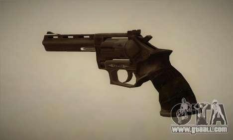 Revolver MR96 for GTA San Andreas second screenshot