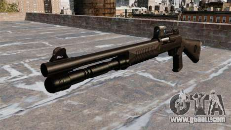Semi-automatic shotgun the Benelli tactical for GTA 4