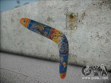 Boomerang for GTA San Andreas