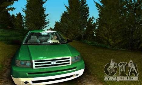 Landstalker GTA IV for GTA San Andreas inner view
