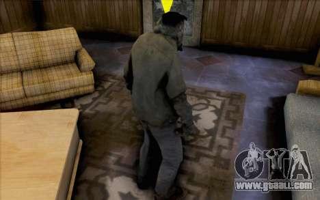 Left 4 Dead Smoker for GTA San Andreas second screenshot