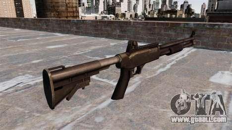 Tactical police shotgun for GTA 4 second screenshot