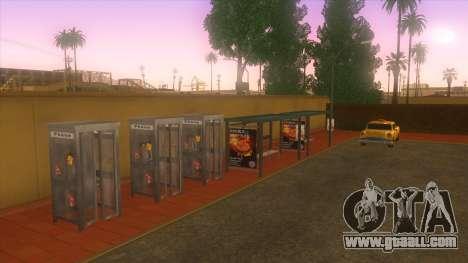 Bus station, Los Santos for GTA San Andreas fifth screenshot